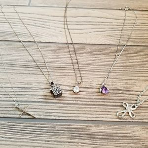 Lot of Christian Themed Necklaces & Earrings